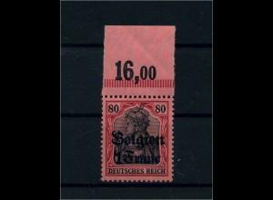 LP BELGIEN 1914 Nr. 7 OR