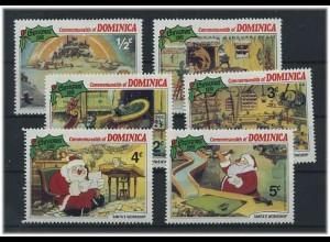 Motivserie WALT DISNEY - DOMINICA postfrisch (40916)