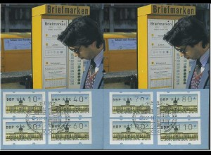 BERLIN ATM - 2 Maximumkarten (48030)