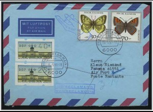 BERLIN 1991 ATM interessanter Brief ANSEHEN (49565)