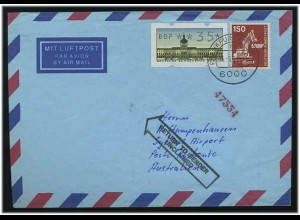 BERLIN 1991 ATM interessanter Brief ANSEHEN (49573)