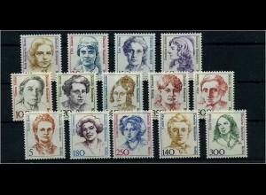 BERLIN 1988/89 Lot Frauen postfrisch ME 66.- (64092)