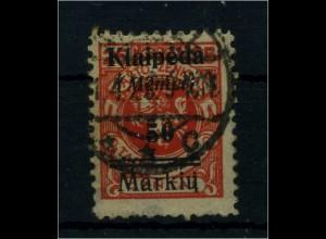 MEMEL 1923 Nr 131 sauber gestempelt (65897)