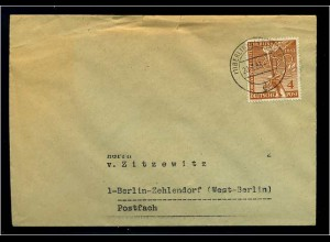 BERLIN 1953 interessanter Brief ANSEHEN (66066)