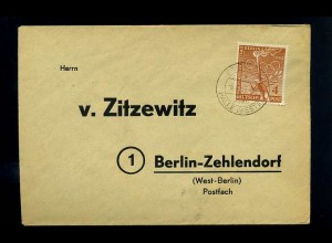 BERLIN 1953 interessanter Brief ANSEHEN (66069)