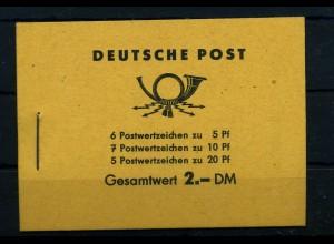 DDR 1960 MH 3b2 sauber postfrisch ME 20.- (68680)