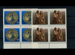 BERLIN 1980 Nr 625-626 Viererblock postfrisch (68752)