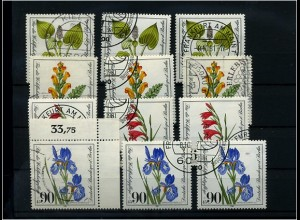 BERLIN 1981 3x Nr 650-653 sauber gestempelt (69999)