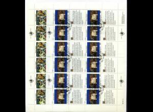 UNO NY 1989 Kleinbogensatz gestplt (700017)