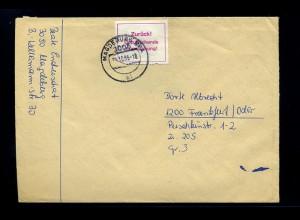MAGDEBURG - Interessanter Brief 1985 (70828)