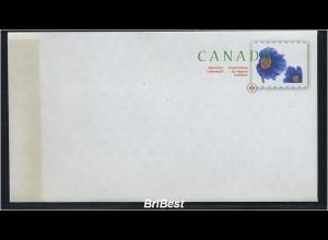 KANADA 2007 Ganzsache postfrisch BLUMEN (78337)
