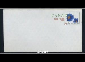 KANADA 2007 Ganzsache postfrisch BLUMEN (78339)