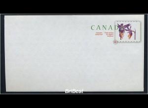 KANADA 2007 Ganzsache postfrisch BLUMEN (78341)