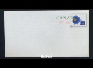 KANADA 2007 Ganzsache postfrisch BLUMEN (78343)