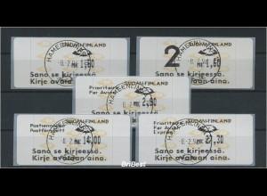 FINNLAND 1992 ATM Nr 12.6 S4 EST HAEMEENLINNA (78621)