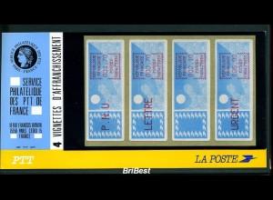 FRANKREICH 1985 ATM Nr 6.17xd ZS1 ** ME 260,- (78737)