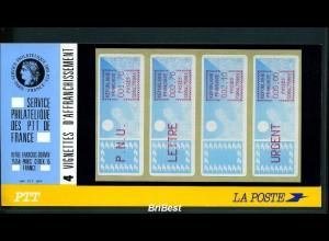 FRANKREICH 1985 ATM Nr 6.18xd ZS1 ** ME 260,- (78738)