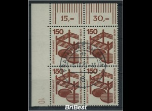 BERLIN 1971 Nr 411 DZ 10 gestemeplt ME 150.-+++ (79239)
