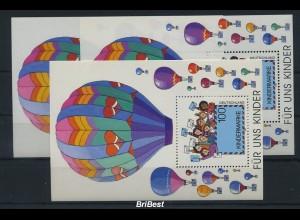 BUND 1997 3x Block 40 postfrisch (79555)