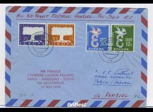 Interessanter Erstflugbeleg 1959 ANSEHEN (80353)