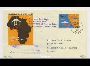 Interessanter Erstflugbeleg 1962 ANSEHEN (80360)