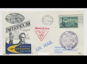 Interessanter Erstflugbeleg 1959 ANSEHEN (80379)