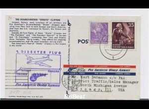 Interessanter Erstflugbeleg 1954 ANSEHEN (80388)