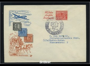 BERLIN 1949 ZD W13 auf Schmuck FDC (83127)