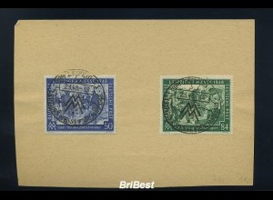 KONTROLLRAT 1948 Sonderstempelbeleg LEIPZIG (83703)