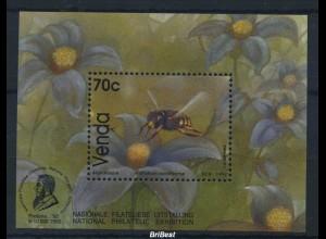 VENDA 1993 Block Motiv SCHMETTERLINGE postfr. (85157)