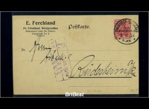 DR 1921 Interessante Postkarte (85543)