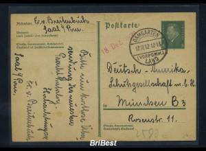 DR 1932 Interessante Ganzsache (85596)