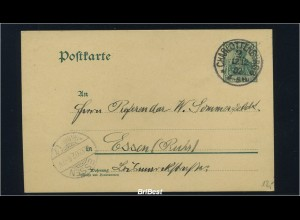 DR 1902 Interessante Ganzsache (85635)