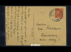 DR 1922 Interessante Postkarte (85704)