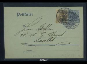 DR 1906 Interessante Ganzsache (85712)