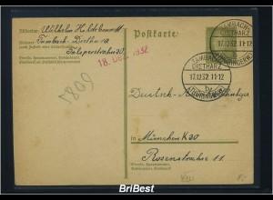DR 1932 Interessante Ganzsache (85743)