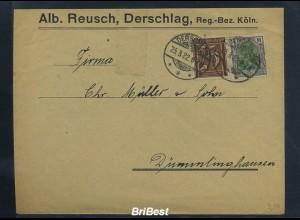 DR 1922 Interessanter Brief (85800)
