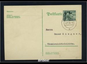 DR 1938 Interessante Postkarte (85857)