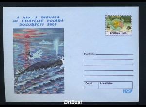 RUMAENIEN 2002 Ganzsache FISCHE postfrisch (86195)