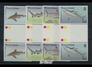 PITCAIRN 1992 Satz FISCHE postfrisch (86235)