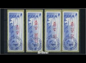 FRANKREICH 1990 ATM Nr 11.2b ZS2 ME 100.- (86392)