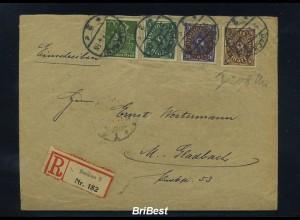 DR 1923 interessanter Brief ANSEHEN (86465)