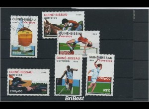 GUINEA-BISSAU 1988 Satz gestempelt SPORT (86487)