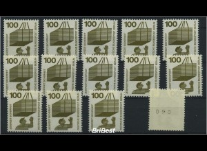 BERLIN 1971 14x Nr 410 sauber postfr (86488)