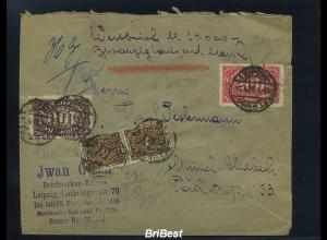 DR 1923 interessanter Brief ANSEHEN (86489)