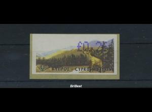ZYPERN ATM 1999 Nr 2 postfrisch ME 40.- (86607)