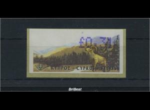 ZYPERN ATM 1999 Nr 2 postfrisch ME 40.- (86614)