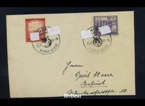DR 1941 Brief Wiener Messe (86713)