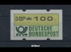 BUND 1981 ATM Nr 1F postfrisch ME 15.- (86752)