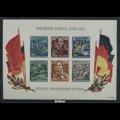 DDR 1955 Block 13 sauber postfrisch (87061)